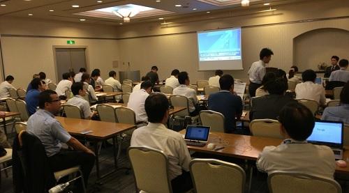 島根県でのHP活用による採用・求人セミナーの様子